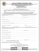 Form Il 505-0345 - 45-day Permit Sponsor Card