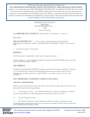 Employment Performance Contract Sample Template