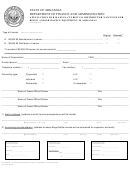 Form Et 388md - Application For Manufacturer's & Distributor's License For Bingo And/or Raffle Equipment In Arkansas - 2008