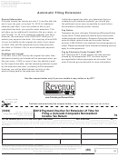 Form Dr 0158-n - Payment Voucher For Extension Of Time For Filing A Colorado Composite Nonresident Income Tax Return - 2012