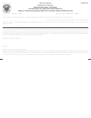 Form R-1028 - Blanket Exemption Certificate For Purchases By Registered Wholesalers For Resale