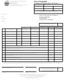 Transaction Privilege (sales) Tax Return Form - City Of Flagstaff