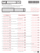 Vermont Form Hi-144 - Household Income - 2007