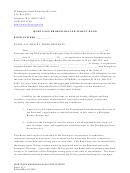 Mortgage Broker-dealer Surety Bond Form - Washington State Securities Division
