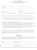 Utility Users Tax Exemption Request Form For Federal Credit Unions Compton - City Of Compton