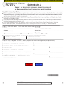 Rl-26-j Schedule J Form - Report Of Alcoholic Liquors Lost, Destroyed, Or Damaged During Production And Bottling - Illinois