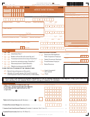 Form 481.0 - Individual Income Tax Return - 2008