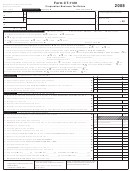 Form Ct-1120 - Corporation Business Tax Return - 2008