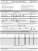 Form 13614 6/8 - Intake And Interview Sheet - Department Of The Treasury