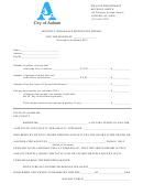 Monthly Wholesale Motor Fuel Report Template - City Of Auburn, Alabama - Finance Department Of Revenue