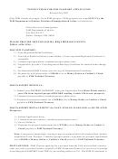Form 5001a - Fsm Passport Application Form