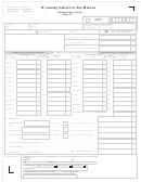 Form 17 - Wyoming Sales/use Tax Return