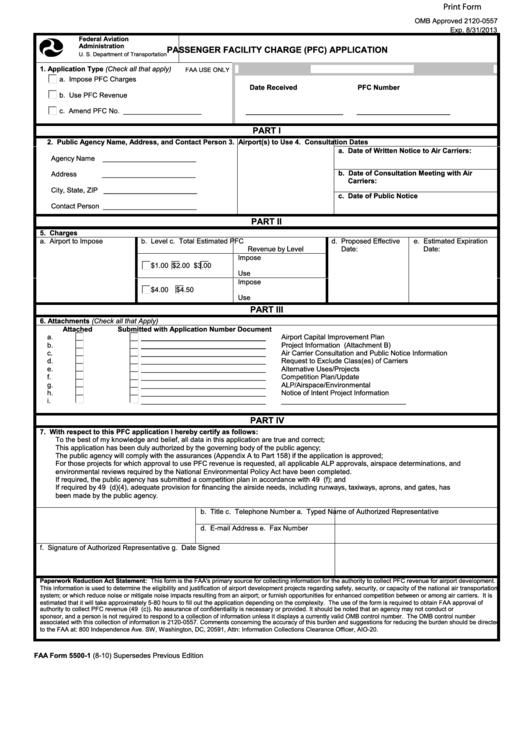 Faa Form 8710-1 Pdf Download