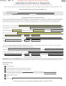Form Mf 100a - Fuel Tax License Application