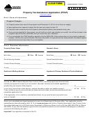 Ppb-8 (ptap) - Property Tax Assistance Application (ptap) Montana