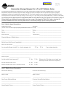 Form Ab-38 - Ownership Change Request For A Pre-1977 Mobile Home - 2015