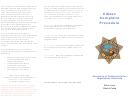 Citizen Complaint Procedure Complaint Form