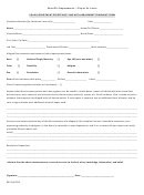 Equal Employment Opportunity And Anti-harassment Complaint Form