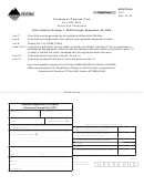 Form Cct Montana Department Of Revenue Consumer Counsel Fee Form