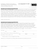 Form Wh-380-f - Certification Of Health Care Provider For Family Member's Serious Health Condition 2015