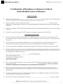 Certificate Of Mailing For The Petition For Appointment Of Guardians - New York University