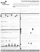 Day Camp Camper Registration Form