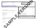 G736cma - Project Application For Payment Form