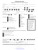 Employee Data Form