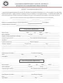 Request To Administer Medicine Form