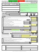 Form 512 - Oklahoma Corporation Income Tax Return - 2010