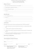 Power Of Attorney Authorization Form