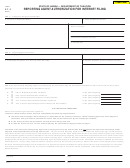 Form Ef-3 - Reporting Agent Authorization For Internet Filing