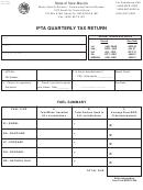Mvd-11263 4/04 - Ifta Quarterly Tax Return Form - State Of New Mexico - Motor Vehicle Division