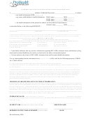 Authorization For Use Or Disclosure Of Health Information Form