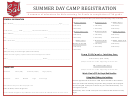 Summer Day Camp Registration Form - Salvation Army In Royal Oak