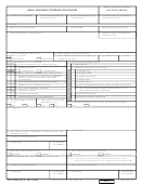 Dd Form 2579 Small Business Coordination Record