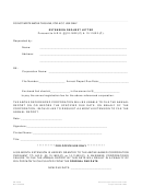 Form Ar:0038 - Extension Request Letter