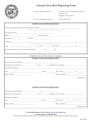Arizona New Hire Reporting Form - Department Of Economic Security