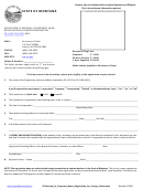 Form 50 - Application For Renewal Of Corporate Name Registration For Foreign Corporation 35-1-311, 35-2-307, Mca
