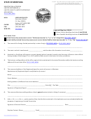Registration Of Foreign Limited Partnership Or Limited Liability Limited Partnership - Montana Secretary Of State