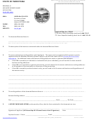 Renewal Of Assumed Business Name Application 30-13-207, Mca - Secretary Of State