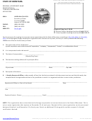 Renewal Of Corporate Name Registration For Foreign Corporation Application - Secretary Of State