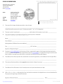 Registration Of Foreign Limited Partnership Application Form - State Of Montana - Secretary Of State