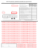 Form 21 - Employer's Quarterly Contribution, Investment Fee, And Wage Report