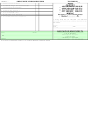 Form W1 7 - Employer's Withholding Form - City Of Reading, Ohio