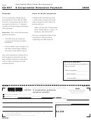 Form 60-ext - S Corporation Extension Payment