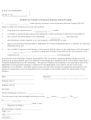 Affidavit For Transfer Of Personal Property Without Probate Form
