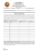 Child Attendance And Parental Choice Certificate Short Form