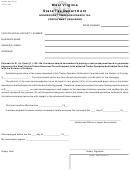 Form Wv/sev-nrt-bond 1 - Nonresident Timber Severance Tax Prepayment Cash Bond - 1999