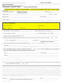 Form Cf2014 - Notification Of Injury Or Sickness - Student Insurance Medical Claim Form